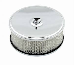 MR. GASKET #4346 6.5in Chrome Air Cleaner
