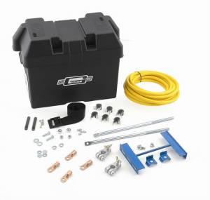 MR. GASKET #6279 Trunk Mount Battery Kit