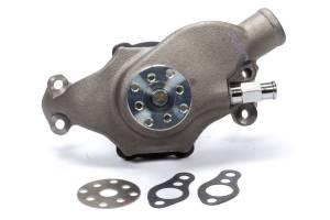 SBC Short Water Pump Iron w/Natural Finish