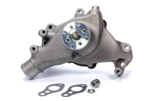 MR. GASKET #7012NG SBC Long Water Pump Iron w/Natural Finish