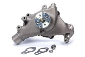 MR. GASKET #7012NG SBC Long Water Pump Iron w/Natural Finish