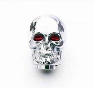 MR. GASKET #9628 Chrm. Skull Shifter Knob