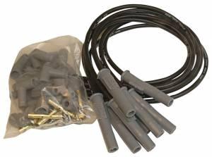 MSD IGNITION #31193 8.5MM Spark Plug Wire Set - Black