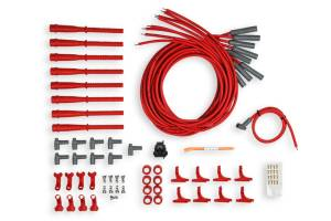 MSD IGNITION #31529 8.5MM Spark Plug Wire Set - Red
