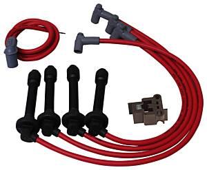 MSD IGNITION #35359 8.5mm Plug Wire Set - 92-00 Honda 1.6L