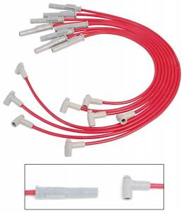 MSD IGNITION #35399 8.5MM Spark Plug Wire Set - Red