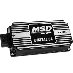 MSD IGNITION #62013 6A Ignition Control Box Black