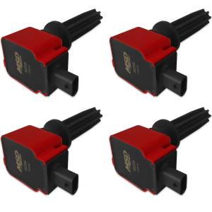 MSD IGNITION #82594 Coil 4pk Ford Eco-Boost 2.0L/2.3L Red