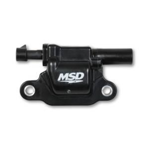 MSD IGNITION #82663 Coil Black Square GM V8 2014-Up 1pk