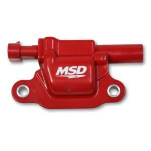 MSD IGNITION #8266 Coil Red Square GM V8 2014-Up 1pk