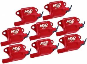 MSD IGNITION #82878 GM LS Series Coils - (8) (LS-2/7)