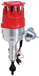 MSD IGNITION #83541 Ford 351W Pro-Billet RTR Distributor w/Steel Gear