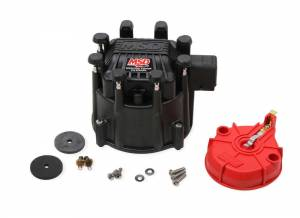MSD IGNITION #84025 Extreme Output GM HEI Cap/Rotor Kit Black