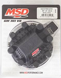 MSD IGNITION #84113 GM HEI Distributor Cap Black