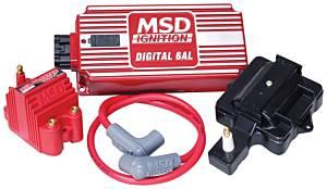 MSD IGNITION #85001 Super HEI Kit w/Digital 6AL & Blaster SS Coil