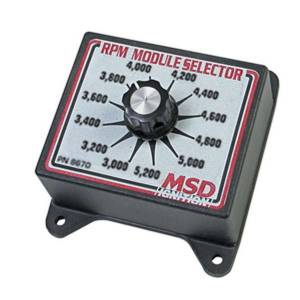 MSD IGNITION #8670 3000-5200 RPM Module Selector