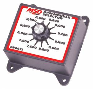 MSD IGNITION #8673 7600-9800 RPM Module Selector