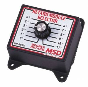 MSD IGNITION #8676 0-11 Degree Retard Module Selector