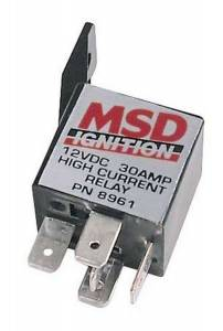 MSD IGNITION #8961 30 AMP Single Pole Single Throw Relay