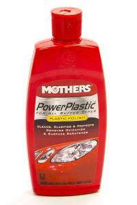 Power Plastic Cleaner/ Polish 8oz