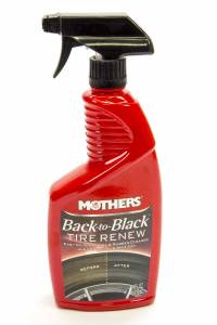 MOTHERS #9324 Back to Black Tire Renew 24oz.