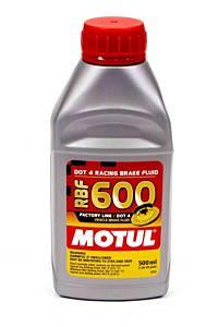 MOTUL USA #MTL100949 RBF Brake Fluid 600 Degree 1/2 Liter