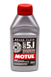 MOTUL USA #MTL100951 Brake Fluid DOT 5.1 Non-Silicone 1/2 Liter