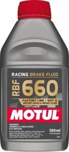MOTUL USA #MTL101667 Brake Fluid 660 Degree 1/2 Liter