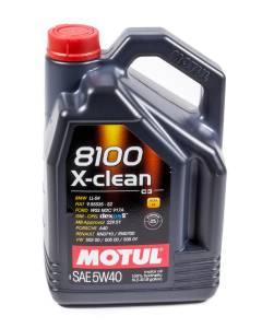 MOTUL USA #MTL102051 8100 X-Clean 5w40 5 Liter