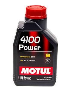 MOTUL USA #MTL102773 4100 Power 15W50 Oil 1 Liter