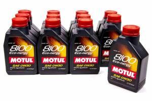 MOTUL USA #102793 8100 Eco-Nergy 0w30 Oil Case/12-Liter