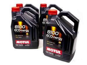 MOTUL USA #102898 8100 Eco-Nergy 5w30 Oil Case/4-5 Liters