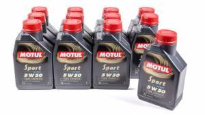 MOTUL USA #103048 Sport 5w50 Case 12X1 Liter