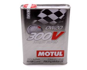 MOTUL USA #MTL104239 300V 0w20 Racing Oil Synthetic 2 Liter