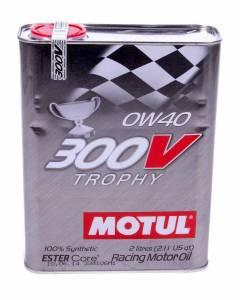 MOTUL USA #MTL104240 300V Trophy Oil 0w40 2 Liter