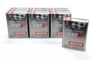 MOTUL USA #104243 300V 10w40 Racing Oil Synthetic Cs/10-2 Liter