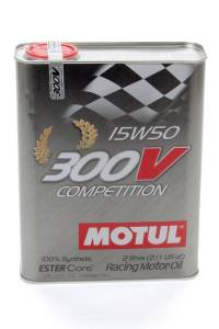 MOTUL USA #MTL104244 300V 15w50 Racing Oil Synthetic 2 Liter
