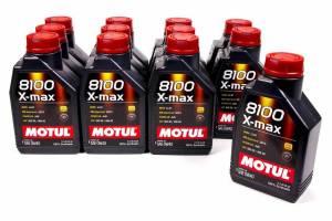 MOTUL USA #104531 8100 0w40 X-Max Oil Case 12x1 Liter