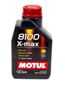 MOTUL USA #MTL104531 8100 0w40 X-Max Oil 1 Liter