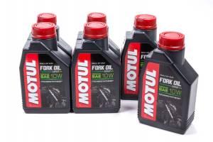 MOTUL USA #105930 Fork Oil Exp M 10W 6X1 Liter