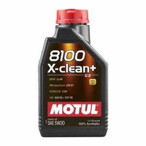 MOTUL USA #MTL106376 8100 X-Clean+ 5w30 1 Liter