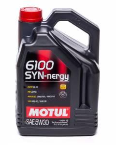 MOTUL USA #MTL107972 6100 Syn-Nergy 5W30 Case 5 Liter