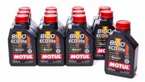 MOTUL USA #108212 8100 Eco-Lite 5w30 Case 12 x 1 Liter