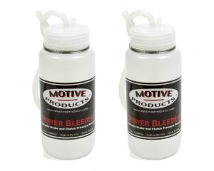 MOTIVE PRODUCTS #1820 Brake Fluid Catch Bottle Kit 2 Bottles