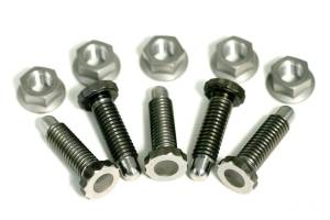 METTEC #KT533 Ti Front Hub Bolt And Nut Kit Bullet Nose