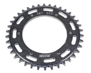 M AND W ALUMINUM PRODUCTS #SP520-525-38T Rear Sprocket 38T 5.25 BC 520 Chain