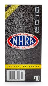 NHRA RULE BOOKS #2018 2018 NHRA Rule Book  * Special Deal Call 1-800-603-4359 For Best Price