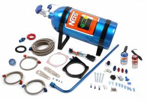NITROUS OXIDE SYSTEMS #05163NOS 90MM LS NOS Plate Kit For Cable Throttle Body