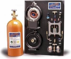 NITROUS OXIDE SYSTEMS #07001NOS Sniper Nitrous System Holley 4-BBL