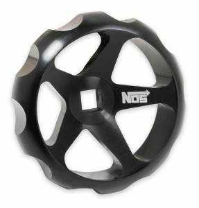 NITROUS OXIDE SYSTEMS #16147NOS Billet Hand Wheel for NOS Bottle Valves